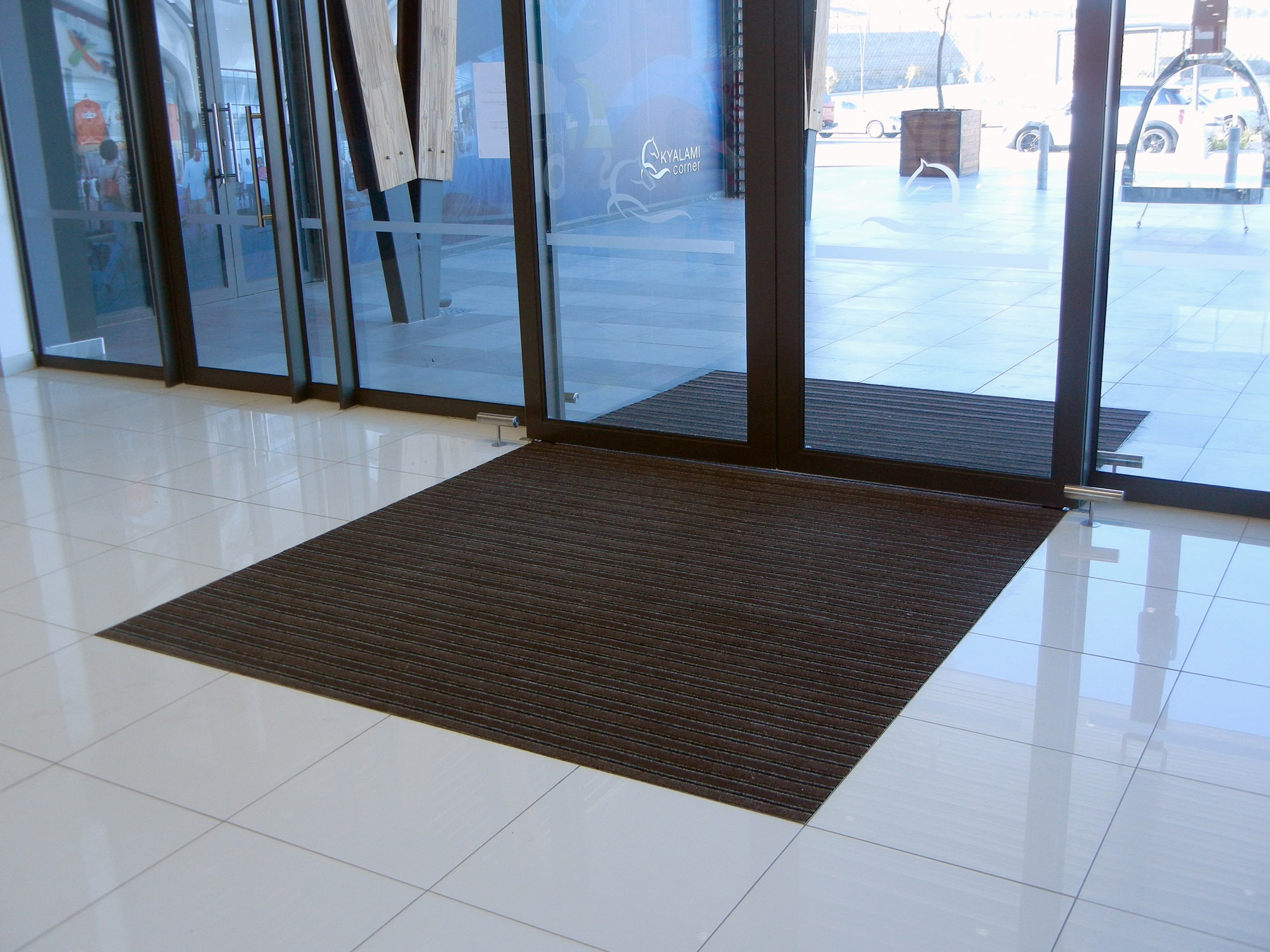 Kyalami Corner entrance matting