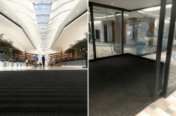 mall entrance matting