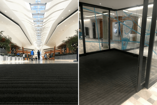 mall entrance matting