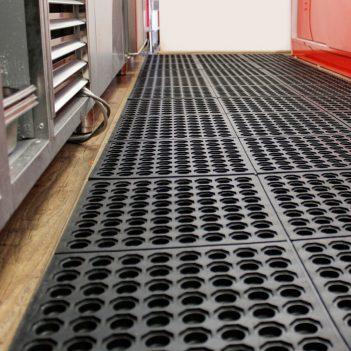 Fatigue-Step Floor Tiles