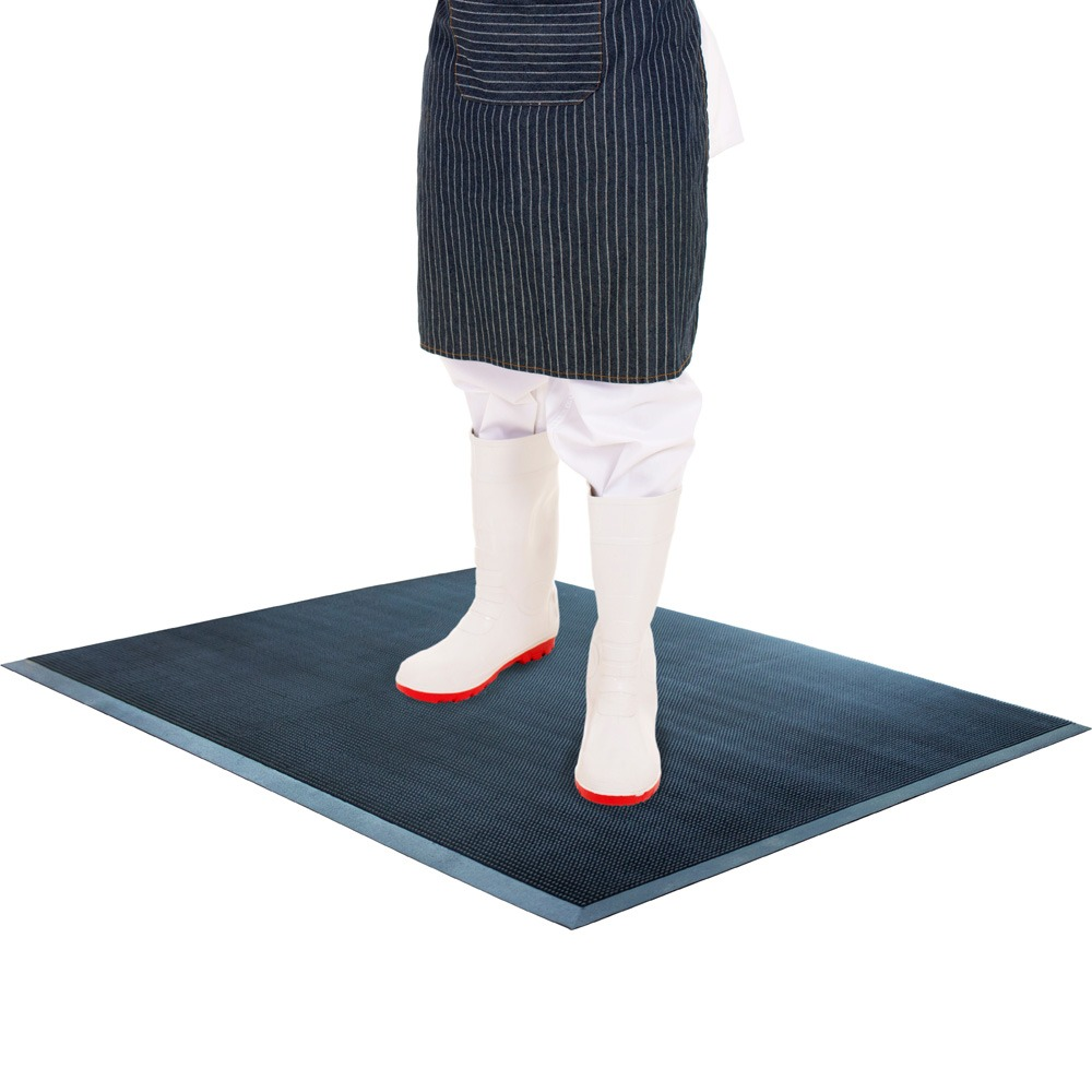 Fingertip Disinfectant Mat Application hygienic mat reduces footwear contamination