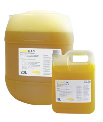 COBA Care disinfectant solution CaterQAC 5L and 20L